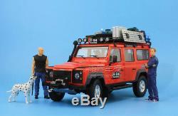 118 Century Dragon Land Rover Defender G4 Off Road SUV Die Cast