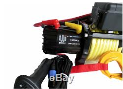 13500lb 12v recovery winch Synthetic rope Dyneema SK75 Off Road Land Rover