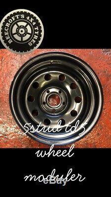 16 X 8 Moduler Wheels Land Rover Td5 Off Road 4x4