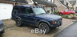 2001 51 Land Rover Discovery 2 Td5 Automatic 4x4 Green Lane Off Road
