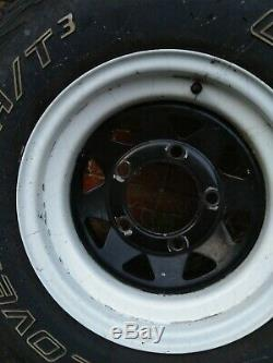 265/70/R15 Land Rover wheels And Tyres Set of 5 Cooper tires Weller Off Road 4x4