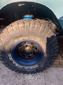 35 12.50 15 Mud Tyres X4 +FREE New Maxis Spare Tyre. 4X4 Off Road Land Rover