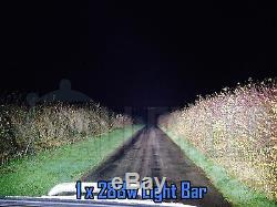 4D 40 240w Cree LED Light Bar Combo IP68 Driving Light Alloy Off Road 4WD Boat