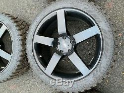 4 x 20 Off road wheels and tyres off Land Rover Discovery MK 4