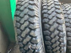 7.50R16C 116/114N Michelin 4X4-O/R XZL Tyres and Mk1 Landrover Wheels +Spare X5