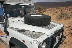 Alu Riffelblech Kotflügel Land Rover Defender, Tdi, Td5, Td4, Kotflügelbleche
