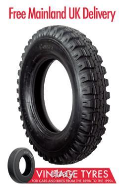 Camac NATO CJ110 900-16 crossply tyre 9.00-16 900-16C Land Rover 101FC