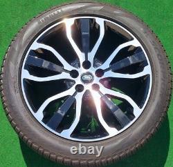 Factory Range Rover Wheels New Tires Genuine OEM Black Diamond Turned 5007 Set 4