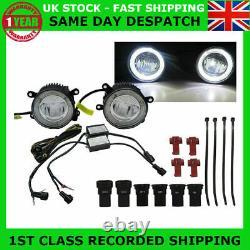 Fit Land Rover Freelander 2006-on Led Drl Daytime Running Lights Fog Lamp Kit