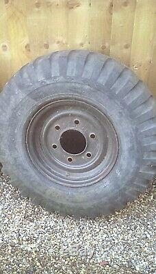 Forward Control wheels and tyres X 5 Bargrip in original condition off landrover