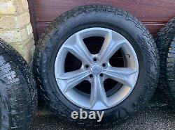 Genuine 17 Discovery Sport or Evoque Wheels and tyres Snow Winter Mud Off Road