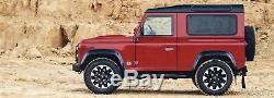 Genuine Land Rover 70th Anniversary 18 Sawtooth Diamond Turned Wheels