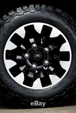 Genuine Land Rover Defender 18 Sawtooth Diamond Turned Wheels (LR123935)