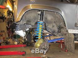 Gwynlewis4x4 challenge suspension kit off road Shock Mounts Turrets