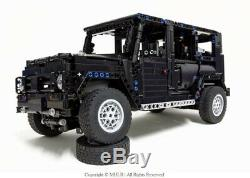 Jeep Wrangler 4x4 Lifted Rubicon Off-roader Mercedes Lego Compi Land Rover 42110