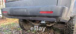 LAND ROVER DISCOVERY III 3 and IV 4 04-15 REAR BUMPER STEEL COVER OFF -ROAD