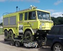 LAND ROVER OFF ROAD FIRE TRUCK PRIVATE EVENT Stonefield P5000 V8 PETROL AUTO