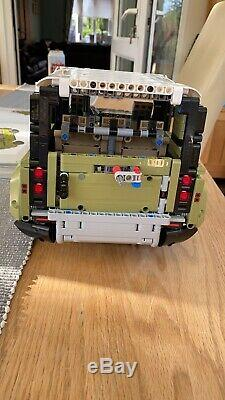 LEGO 42110 Technic Land Rover Defender Off Road 4x4 Built With Box & Manual