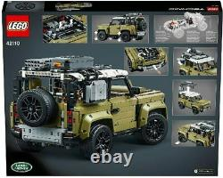 LEGO 42110 Technic Land Rover Defender Off Road 4x4 Car, Enhanced Building Set