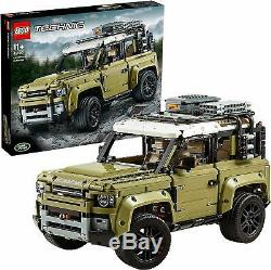 LEGO 42110 Technic Land Rover Defender Off Road 4x4 Car Model Building Toy Set
