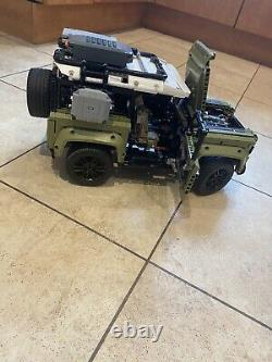LEGO 42110 Technic Land Rover Defender Off Roader 4x4 Car Toy Built Once