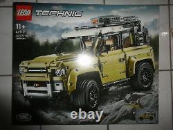 LEGO Technic Model Off-Road 42110 Land Rover Defender NEU und OVP