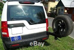 Land Rover DISCOVERY 3 III Spare wheel carrier, holder Off-road