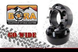Land Rover Defender 1.75 Wheel Spacers (4) by BORA Off Road Made In the USA