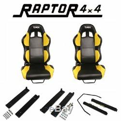 Land Rover Defender Bucket Seat Kit Includes Mounting Plates Off Road Race Seats
