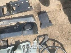 Land Rover Defender Dash Board Panels all plastics Off the bulkhead in photo