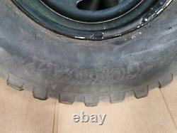 Land Rover Defender R16 Steel wheels with off road tyres 235 85 16