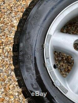 Land Rover Defender Set of 5 Off-Road Wheels & Tyres