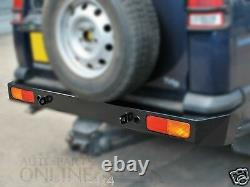 Land Rover Discovery 2 Heavy Duty Rear Bumper Tow Eyes Offroad Da5646