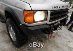 Land Rover Discovery 2 II FRONT STEEL BUMPER WINCH OFF -ROAD