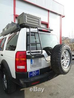 Land Rover Discovery 3 & 4 Roof Access Ladder Off-Road 4X4 rack