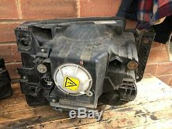 Land Rover Discovery 3 Front Headlights Pair Left & Right Near & Off Side Xenon