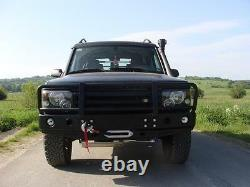 Land Rover Discovery II 2 Front Steel Bumper Winch Off Road 4x4 Td5