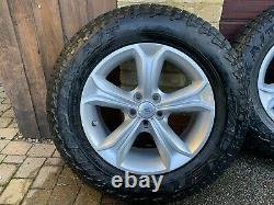 Land Rover Discovery Sport / Evoque Alloys All Terrain Off Road Tyres with TPMS