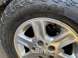 Land Rover Freelander Alloy Wheels With Off Road Tyres 195/80/15 98 2006