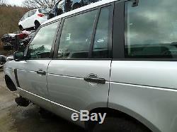 Land Rover Range Rover L322 Td6 Left Rear Bare Door Silver Breaking