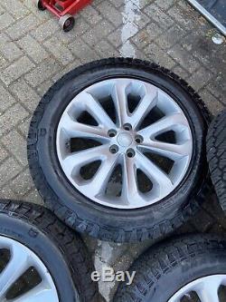 Land Rover Range Rover Sport 20 GENERAL GRABBER 255/55/20 Off Road Tyres