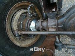 Land Rover Stage 1 one V8 Front axle assembly with springs take off