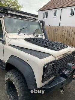 Land Rover defender 110 galv chassis bulkhead off road 4x4 swap swop part x