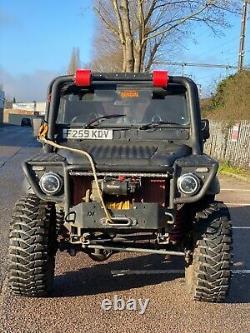 Land Rover defender 90 off roader/ challenger truck/ road legal