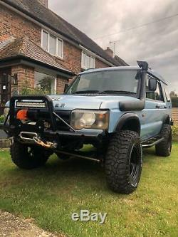 Land Rover discovery 2 td5 off roader warn Ashcroft