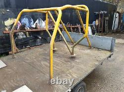 Land rover 90 series roll cage project off roader