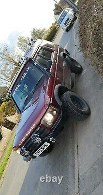 Land rover discovery 2 td5 off road 2002