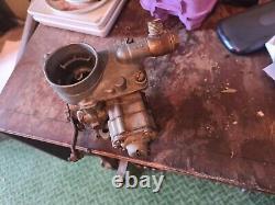 Land rover series 1 one solex 32pbi 2 carburettor Working off running engine