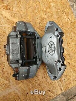 Landrover Defender Tdci 2.2 Genuine Take Off Vented Front Brake Pads & Calipers