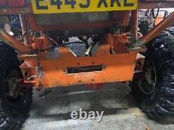 Landrover defender 90 winch challenge tray back off roader